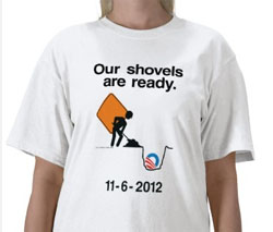 Shovel Ready 2012 - shirt